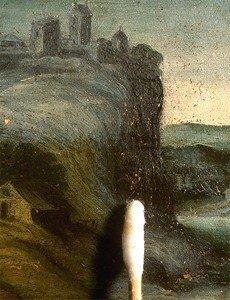 Pulitura dei dipinti con solvente