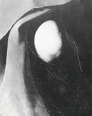 Caravaggio, San Giovanni Battista. Il particolare