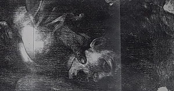 Caravaggio, Sacrificio di Isacco, La radiografia rivela la vigorosa qualità dell'abbozzo nel quale l'opera appare praticamente finita