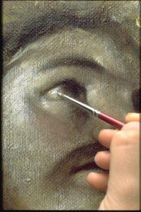 Dipinto esemplificativo della tecnica di Tiziano