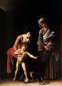 Caravaggio - Madonna dei Palafrenieri