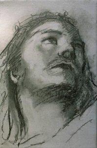 disegno preparatorio - La tecnica di Tiziano