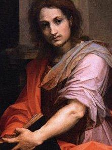 Andrea del Sarto-Madonna delle Arpie- dettaglio