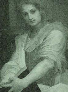 Andrea del Sarto-Madonna delle Arpie- dettaglio_IR