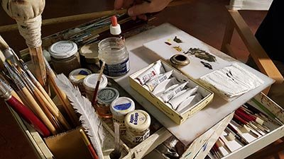 tecniche pittoriche