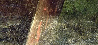 Alterazione della vernice protettiva
