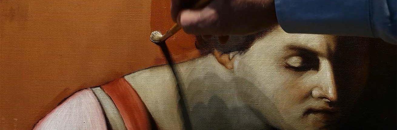 La vernice nella pittura